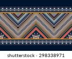 geometric ethnic pattern design ... | Shutterstock .eps vector #298338971