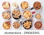 Potato Chips Pretzels  Roasted...