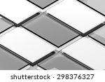 template to presentation app... | Shutterstock . vector #298376327