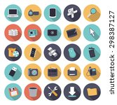 flat design icons for...