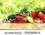 Desk Top Vegetables And Garden