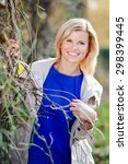 the beautiful young girl. woman ...   Shutterstock . vector #298399445