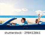 close up portrait of young man...   Shutterstock . vector #298412861