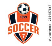 football badge logo template... | Shutterstock .eps vector #298457867