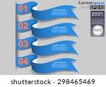 infographics elements of... | Shutterstock .eps vector #298465469
