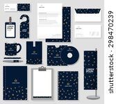 corporate identity template... | Shutterstock .eps vector #298470239