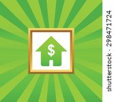 image of house with dollar...