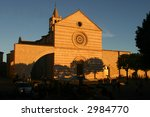 church of santa chiara in... | Shutterstock . vector #2984770