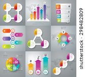 infographic design template can ... | Shutterstock .eps vector #298482809