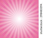 Illustration Of Pink Sunlight
