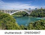The Rainbow Bridge Spans The...