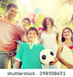 family happiness parents... | Shutterstock . vector #298508651
