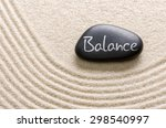 A Black Stone With The...
