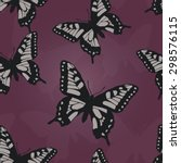 seamless vector pattern with... | Shutterstock .eps vector #298576115