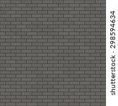 seamless tillable brick texture ... | Shutterstock . vector #298594634