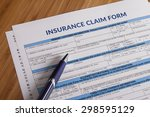 claim form for fill out | Shutterstock . vector #298595129