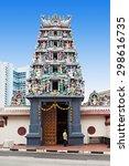 The Sri Mariamman Temple is Singapore