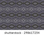 cloth embroidered motifs close | Shutterstock . vector #298617254