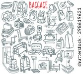 Baggage Themed Doodle Set....