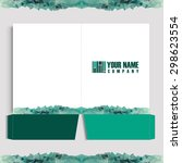 folder corporate identity | Shutterstock .eps vector #298623554