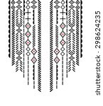 ethnic neck embroidery for... | Shutterstock .eps vector #298624235