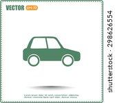 vector illustration of car | Shutterstock .eps vector #298626554