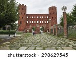 palatine in turin | Shutterstock . vector #298629545
