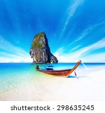 scenic getaway background of... | Shutterstock . vector #298635245