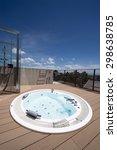 relaxation in luxury bubble...   Shutterstock . vector #298638785
