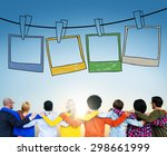 picture photography frame image ... | Shutterstock . vector #298661999