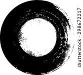 grunge rectangle element for...   Shutterstock .eps vector #298672217