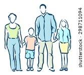 family   Shutterstock .eps vector #298711094