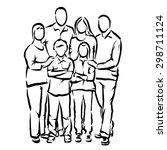 family | Shutterstock .eps vector #298711124