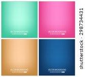 abstract creative concept... | Shutterstock .eps vector #298734431