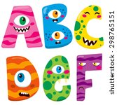 Funny Halloween Alphabet With...
