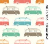 retro  vintage  travel  camper...   Shutterstock .eps vector #298787489
