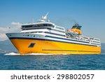Big Yellow Passenger Ferry Goes ...