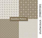 abstract doodles seamless...   Shutterstock .eps vector #298859381