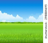 green environment illustration | Shutterstock .eps vector #298884695