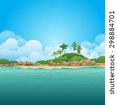 green environment illustration | Shutterstock .eps vector #298884701