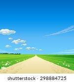 green environment illustration | Shutterstock .eps vector #298884725