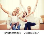 family  children  accomodation... | Shutterstock . vector #298888514
