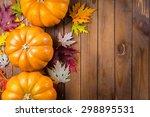 Background  Cornucopia  Pumpkin.