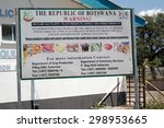 kazungula  zambia   april 11 ... | Shutterstock . vector #298953665