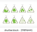 triangle shape patrick's day... | Shutterstock .eps vector #29896441