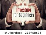 investor. business concept....   Shutterstock . vector #298968635