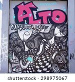 athens  greece  14 july 2015 ... | Shutterstock . vector #298975067