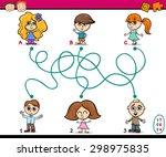 cartoon vector illustration of... | Shutterstock .eps vector #298975835