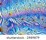 fractal aqua tiles | Shutterstock . vector #2989879