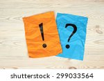 punctuation marks on sheet of... | Shutterstock . vector #299033564